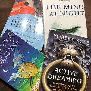 BUNDLE OF 4 BOOKS ON DREAMS